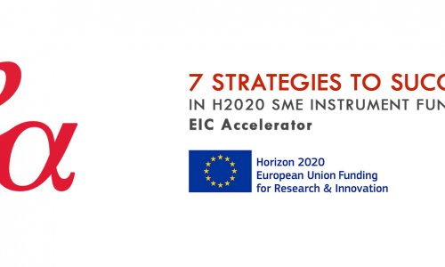 Infographic: 7 Strategies to Succeed in H2020 SME Instrument – EIC Accelerator