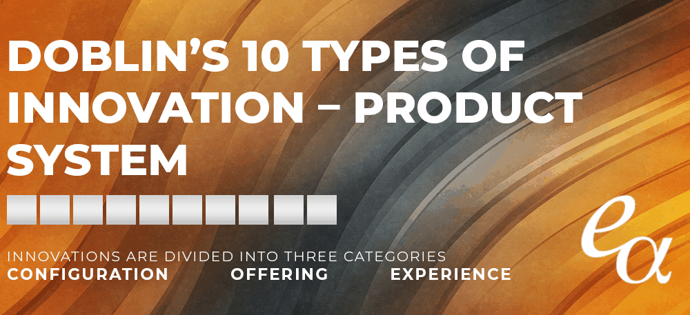 Doblin's 10 Types of Innovation – Product System