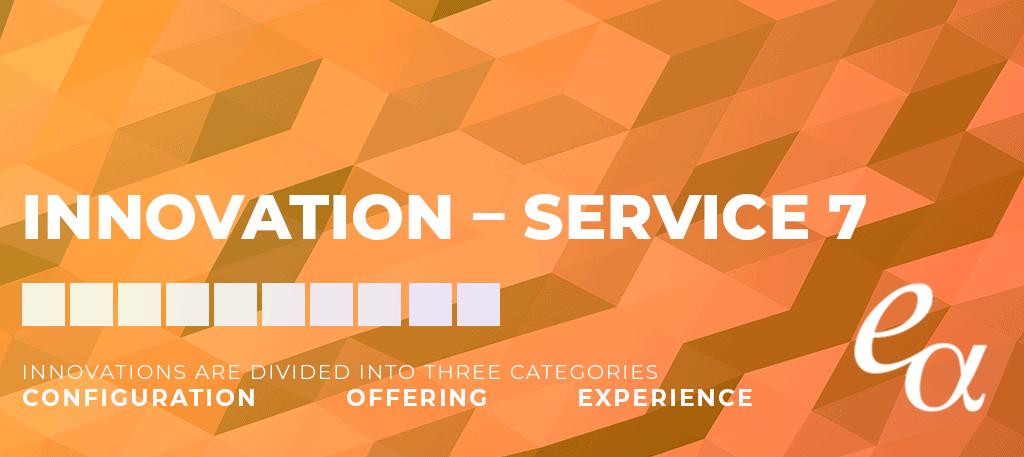 Doblin's 10 Types of Innovation – Service